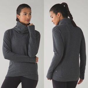 lululemon | On The Double Pullover Dark Grey 2